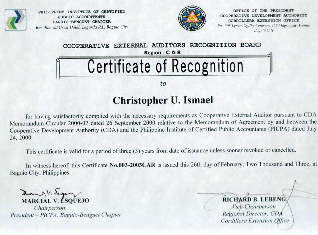 Online Certification: Cda Certificate Online